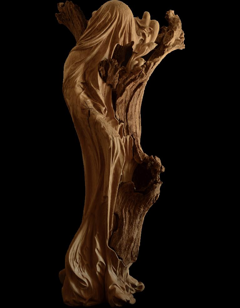 sculpture devoilement detourage