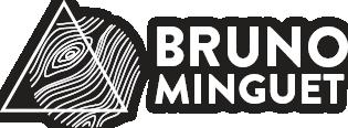 Logo Bruno Minguet blanc